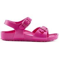 Sapatos Rapariga Sandálias Birkenstock Criança Rio EVA 1015463 Beetroot Purple Rosa