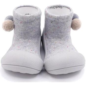 Sapatos Criança Pantufas bebé Attipas Shooting Star Grey Cinza