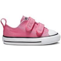 Sapatos Rapariga Sapatilhas Converse Sapatilhas Bebé Chuck Taylor 2V 709447C Rosa