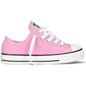 Sapatos Rapariga Sapatilhas Converse Sapatilhas Criança CT All Star OX Pink Rosa