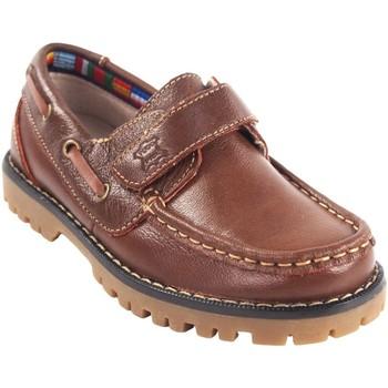 Sapatos Rapaz Sapato de vela Bubble Bobble Sapato menino  a766 marrom Castanho