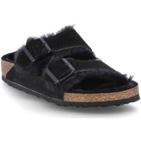Sapatos Homem Chinelos Birkenstock Arizona Fur Preto