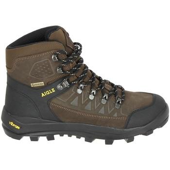 Sapatos Homem Sapatos de caminhada Aigle Letrak SU GTX Marron Castanho