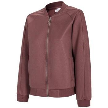 Textil Mulher Sweats 4F BLD021 Cor cereja