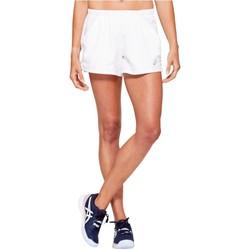 Textil Mulher Shorts / Bermudas Asics Practice W Short Blanc