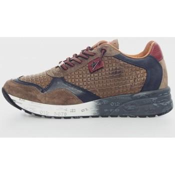 Sapatos Homem Sapatilhas Cetti 848 Marrón