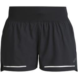 Textil Mulher Shorts / Bermudas Asics Lite-Show 3.5 In Short Noir