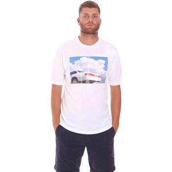 Textil Homem T-Shirt mangas curtas Sseinse TE1825SS Branco