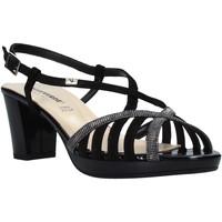 Sapatos Mulher Sandálias Valleverde 38536 Preto