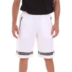 Textil Homem Shorts / Bermudas Ea7 Emporio Armani 3KPS56 PJ05Z Branco