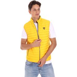 Textil Homem Casacos de malha Ciesse Piumini 215CFMV11394 N021D0 Amarelo