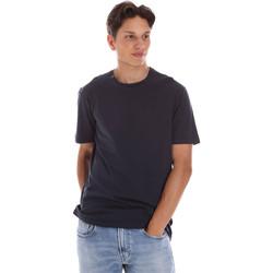 Textil Homem T-Shirt mangas curtas Ciesse Piumini 215CPMT01455 C2410X Preto
