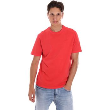 Textil Homem T-Shirt mangas curtas Ciesse Piumini 215CPMT01455 C2410X Vermelho