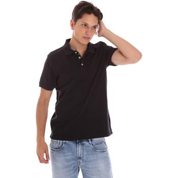 Textil Homem Polos mangas curta Ciesse Piumini 215CPMT21454 C0530X Preto