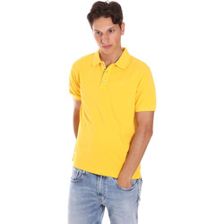 Textil Homem Polos mangas curta Ciesse Piumini 215CPMT21454 C0530X Amarelo