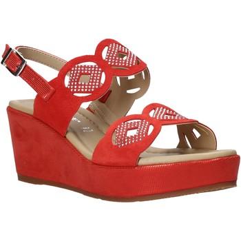 Sapatos Mulher Sandálias Valleverde 32214 Vermelho