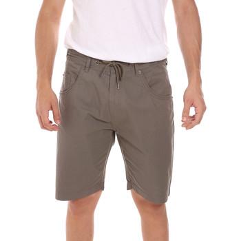 Textil Homem Shorts / Bermudas Key Up 2P025 0001 Verde
