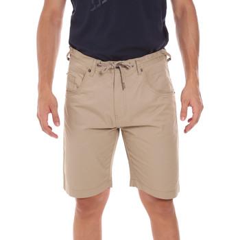 Textil Homem Shorts / Bermudas Key Up 2P025 0001 Bege