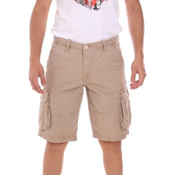 Textil Homem Shorts / Bermudas Gaudi 111GU25042 Bege
