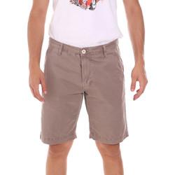 Textil Homem Shorts / Bermudas Gaudi 111GU25043WH Bege