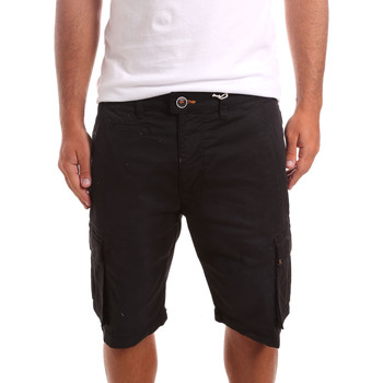 Textil Homem Shorts / Bermudas Sseinse PB738SS Preto
