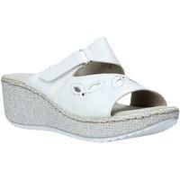Sapatos Mulher Chinelos Valleverde 20221 Branco