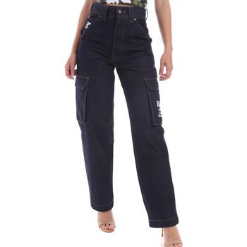Textil Homem Calças Jeans Karl Kani KRCKKMQ12036 Azul