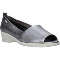 Sapatos Mulher Mocassins Valleverde 41141 Cinzento