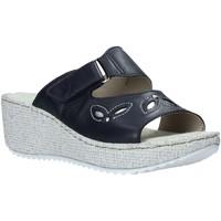 Sapatos Mulher Chinelos Valleverde 20221 Azul