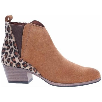 Sapatos Mulher Botas baixas Marco Tozzi 222505633441 Cor de mel