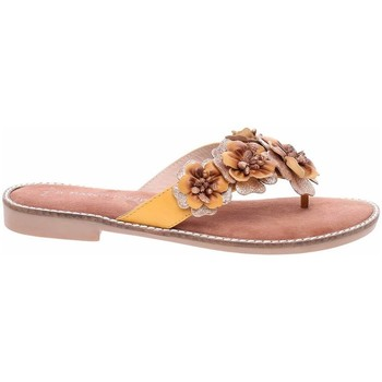 Sapatos Mulher Chinelos Marco Tozzi 222710826674 Amarelo