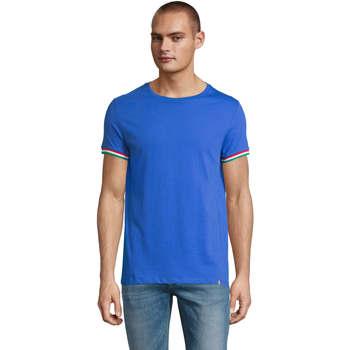 Textil Homem T-Shirt mangas curtas Sols CAMISETA MANGA CORTA RAINBOW Azul