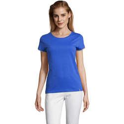 Textil Mulher T-Shirt mangas curtas Sols CAMISETA MANGA CORTA RAINBOW Azul