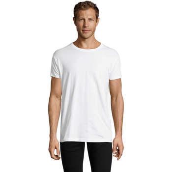 Textil Homem T-Shirt mangas curtas Sols REGENT FIT CAMISETA MANGA CORTA Blanco