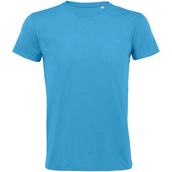 Textil Homem T-Shirt mangas curtas Sols REGENT FIT CAMISETA MANGA CORTA Azul