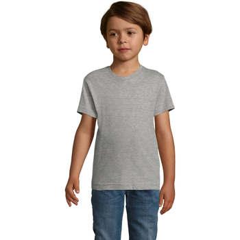 Textil Rapaz T-Shirt mangas curtas Sols REGENT FIT CAMISETA MANGA CORTA Gris