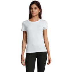 Textil Mulher T-Shirt mangas curtas Sols REGENT FIT CAMISETA MANGA CORTA Blanco