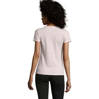 Textil Mulher T-Shirt mangas curtas Sols REGENT FIT CAMISETA MANGA CORTA Rosa