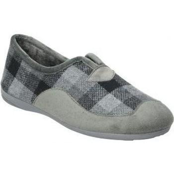 Sapatos Homem Chinelos Cosdam Z. DE CASA  13685 CABALLERO GRIS Gris