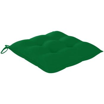 Casa Almofada de cadeira VidaXL Almofadão de cadeira Verde