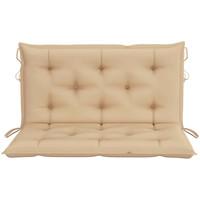 Casa Almofada de cadeira VidaXL Almofada decorativa 100 cm Bege
