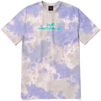 Textil Homem T-Shirt mangas curtas Huf T-shirt chemistry ss Violeta
