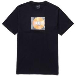 Textil Homem T-Shirt mangas curtas Huf T-shirt mix box logo ss Preto