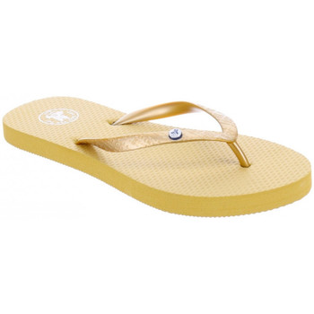 Sapatos Mulher Chinelos JOTT Slim tong femme Ouro