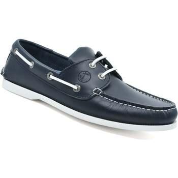 Sapatos Homem Sapato de vela Seajure Watamu Boat Shoe Azul Marinho