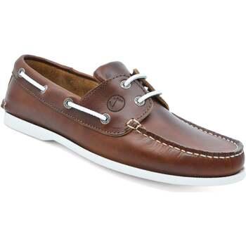 Sapatos Homem Sapato de vela Seajure Silistar Boat Shoe Castanho