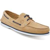 Sapatos Homem Sapato de vela Seajure Cofete Boat Shoe Camel
