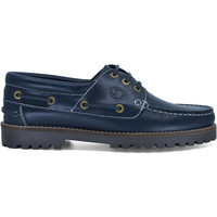 Sapatos Homem Sapato de vela Seajure Lubmin Boat Shoe Azul Marinho