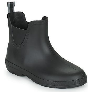 Sapatos Mulher Botas de borracha Isotoner 93701 Preto