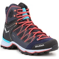 Sapatos Mulher Sapatos de caminhada Salewa WS Mtn Trainer Lite Mid Gtx Azul marinho